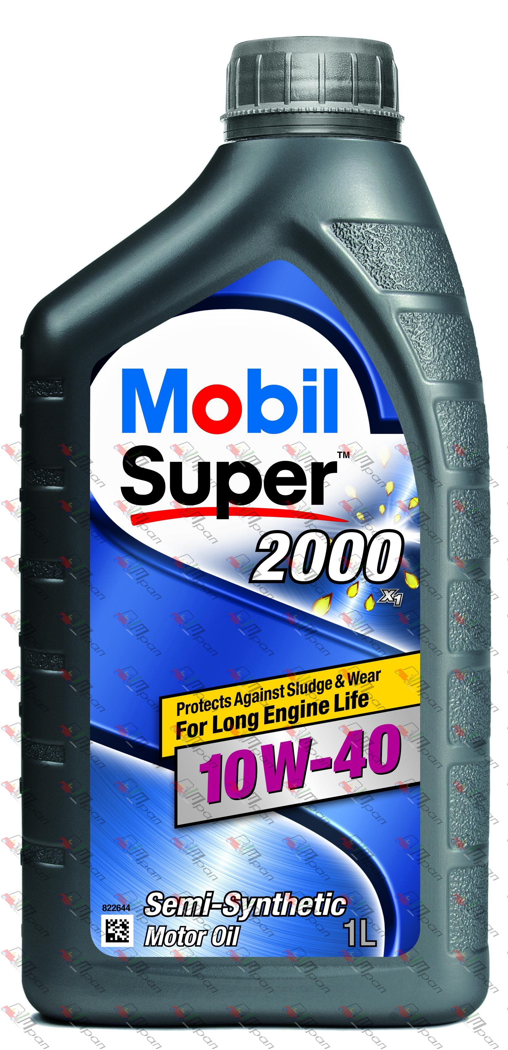 Mobil Масло моторное полусинтетич. Mobil Super 2000 10w40 1л