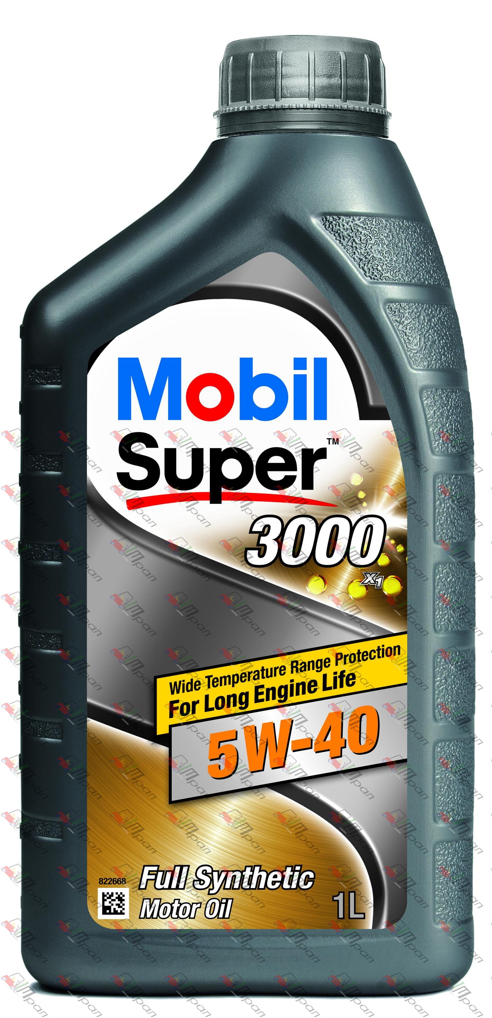 Mobil Масло моторное синтетич. Mobil Super 3000  5w40 1л