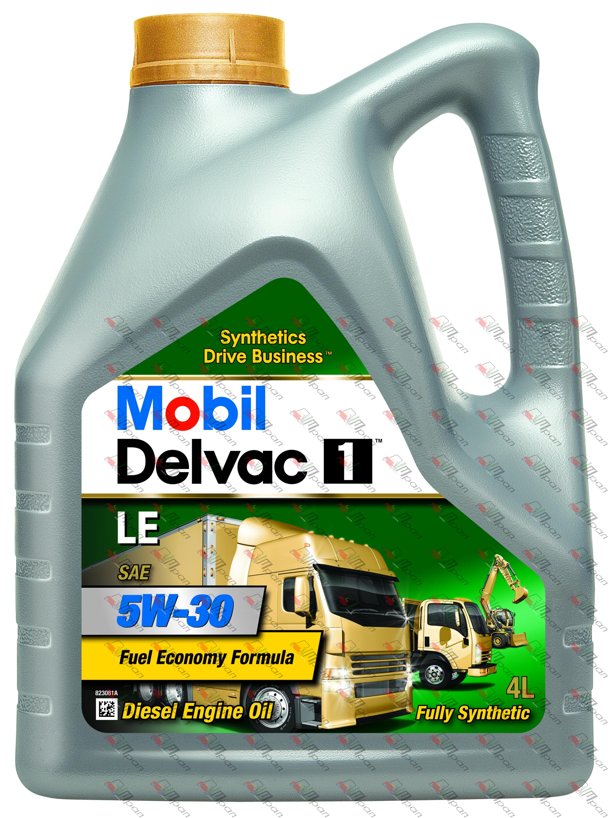 Mobil Масло моторное Mobil Delvac 1 LE 5w30 4л