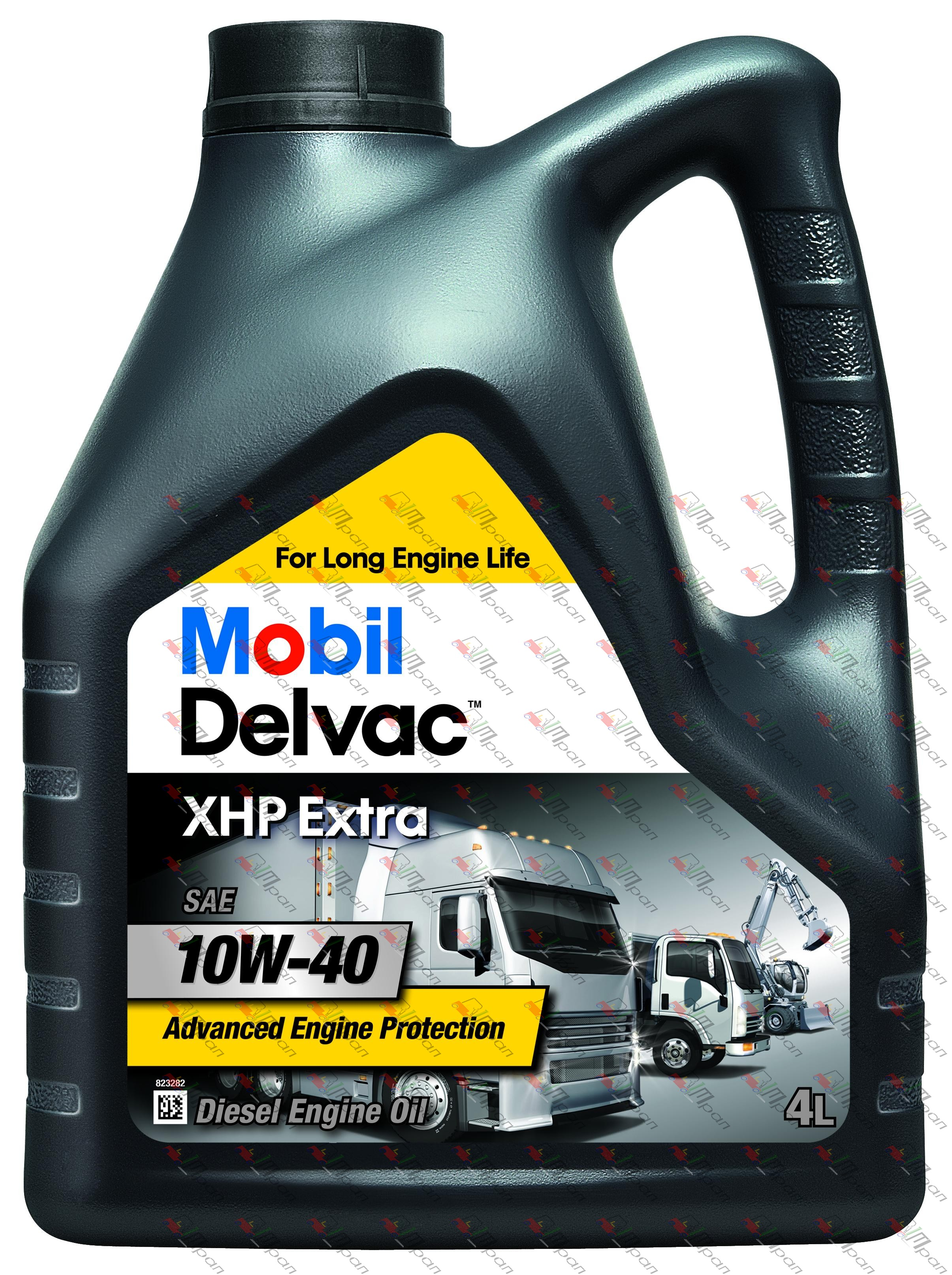 Mobil Масло моторное Mobil Delvac XHP Extra 10w40 4л