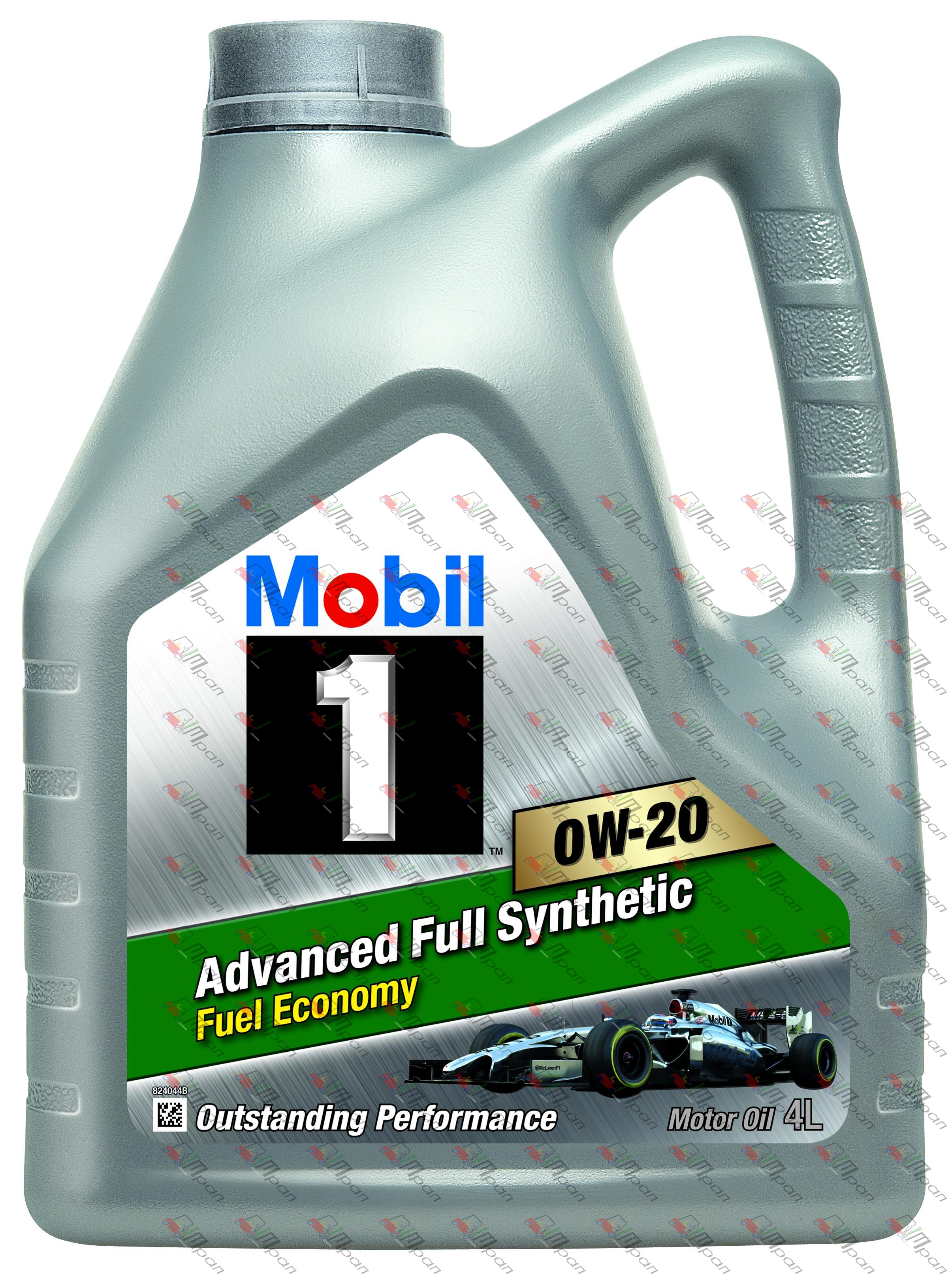 Mobil Масло моторное синтетич. Mobil 1 FE 0w20 4л